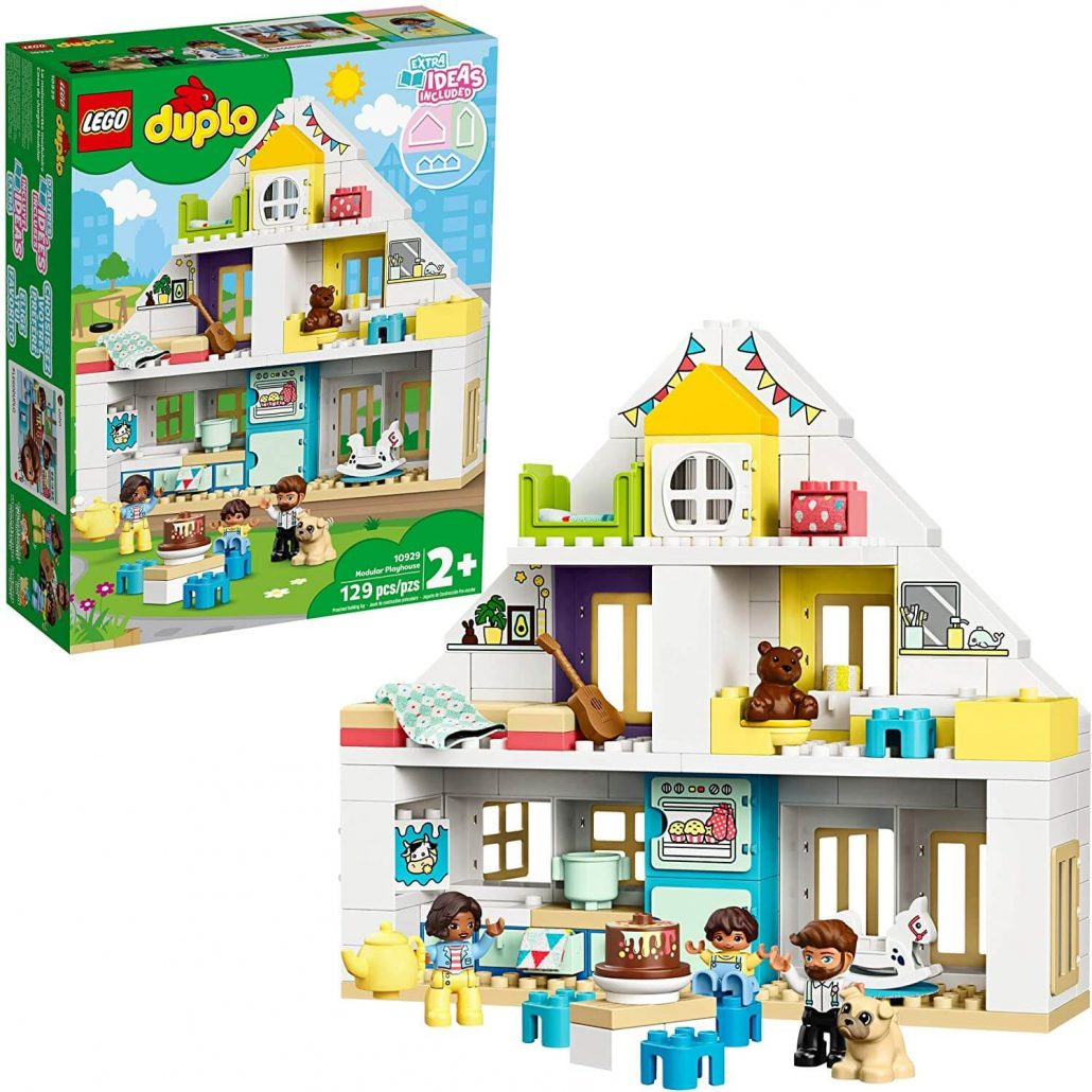 Lego Duplo dollhouse educational toy for toddlers.