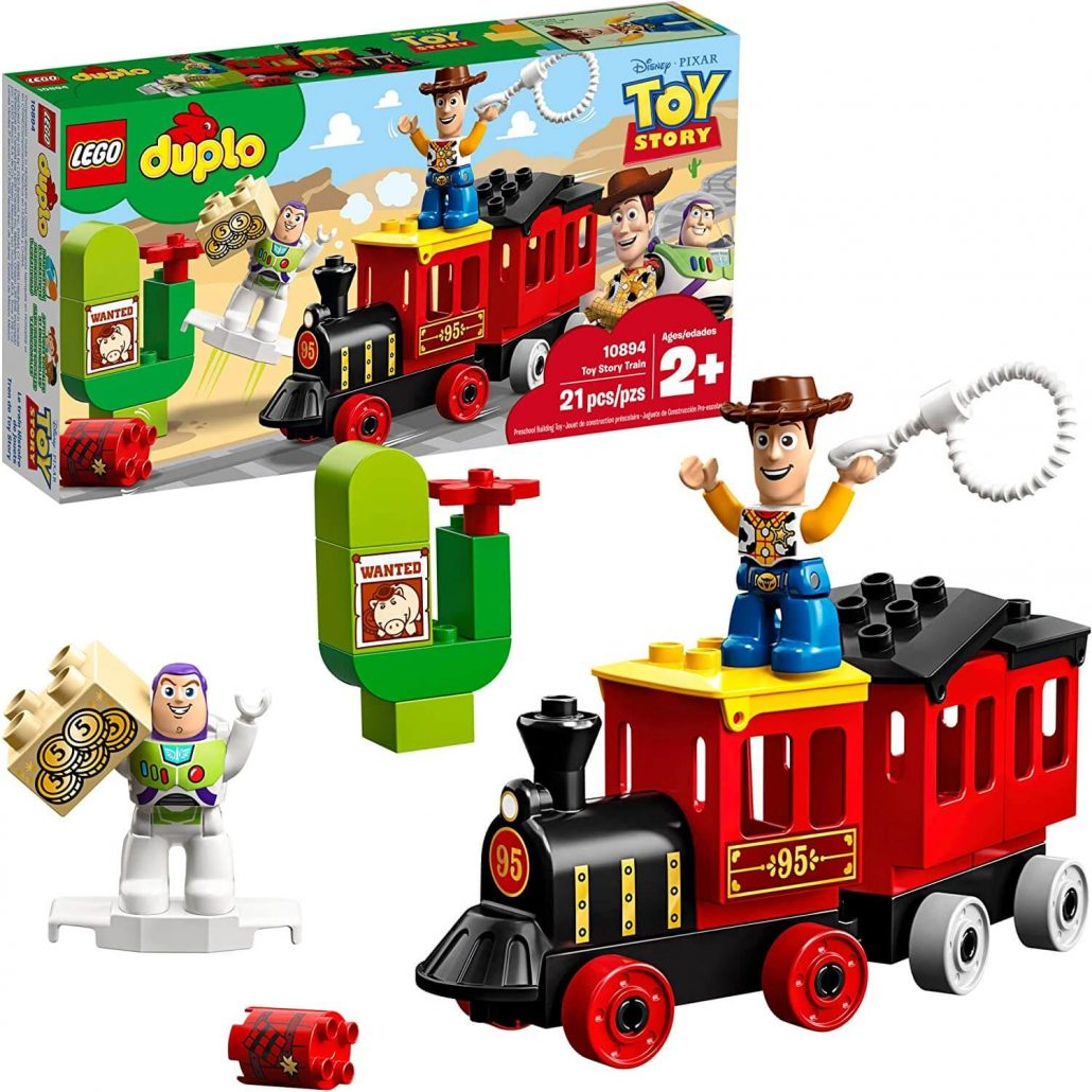 Lego Duplo Toy Story train set for toddlers.
