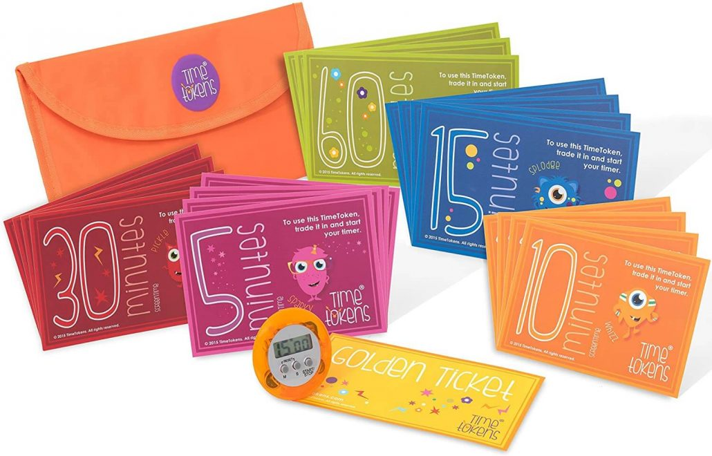 Time Tokens to help limit your child's screen time.
