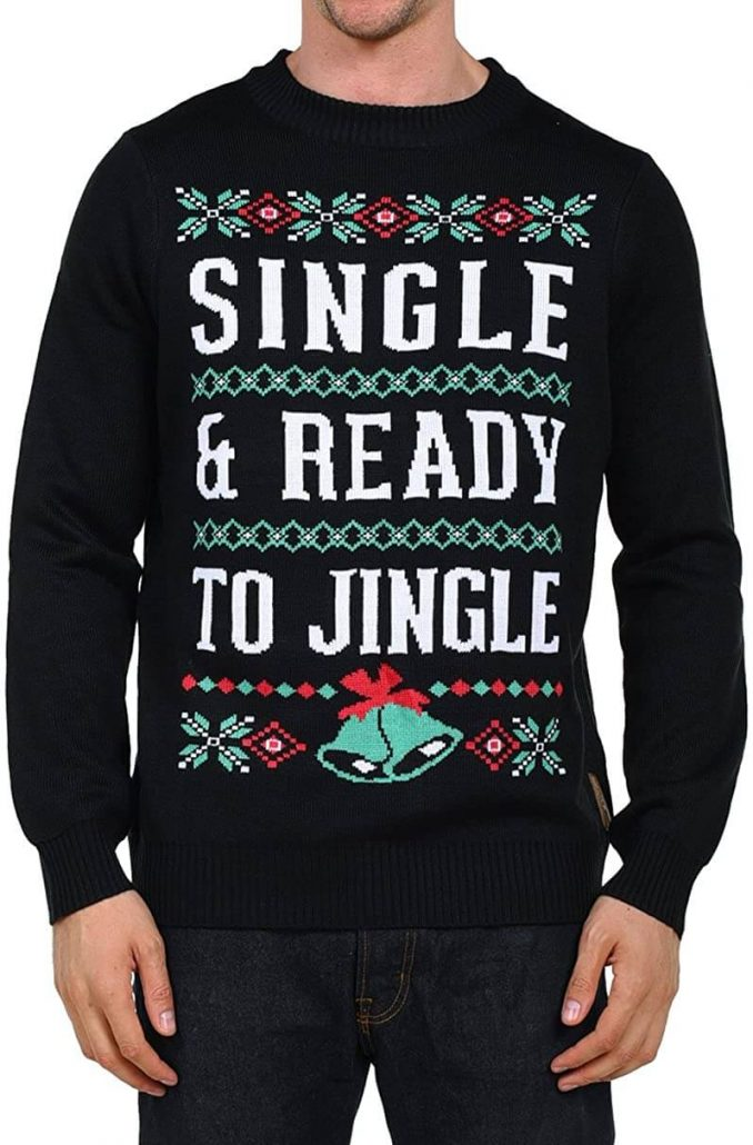 Funny Christmas sweater for adults.
