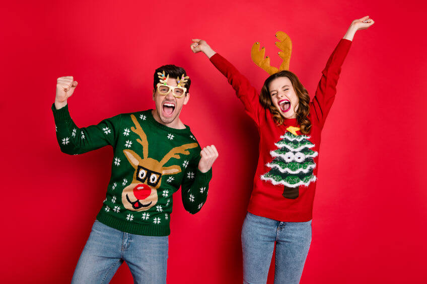 What do you do at an ugly sweater party?