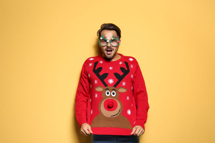 Where did ugly Christmas sweaters originate?