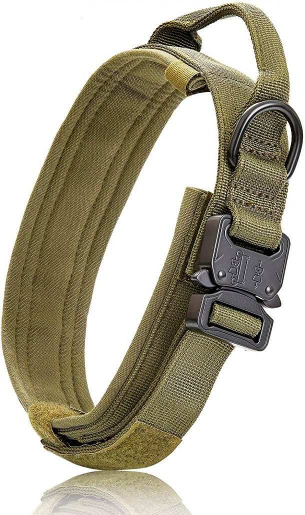 Tactical dog collar by BMusdog.