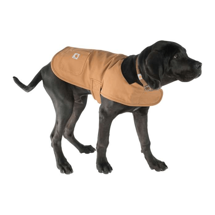 Insulated winter dog coat by Carhart.