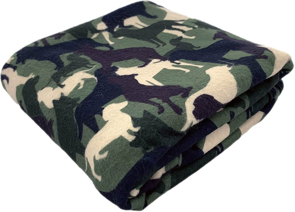 Cozy dog bed blanket for large, small, and medium dogs.