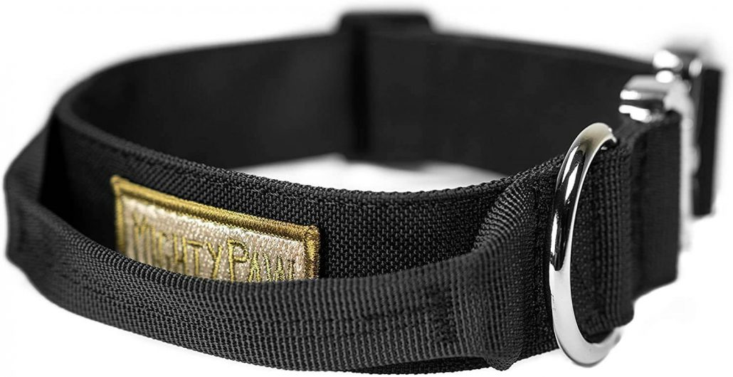Mighty Paw tactical dog collar.