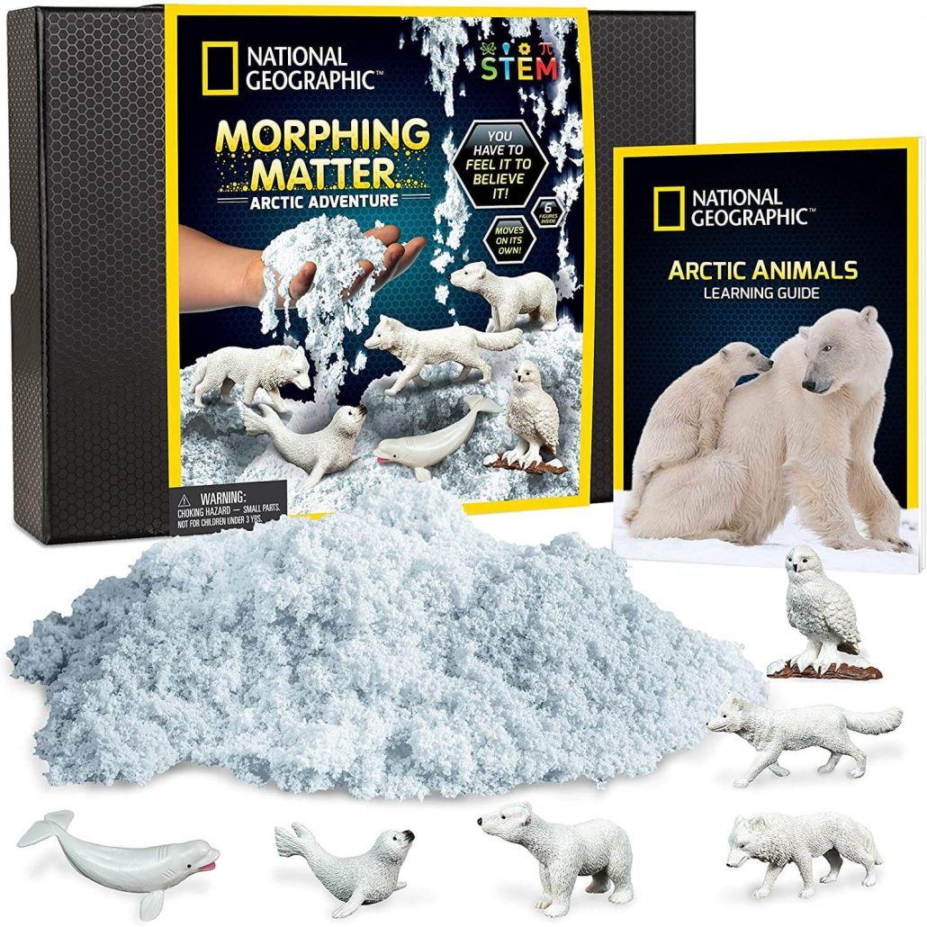 National Geographic sensory Arctic play set for toddlers.