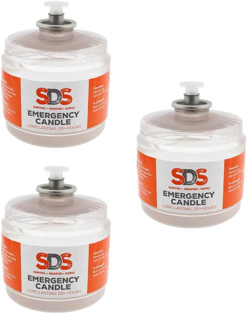 Emergency liquid oil candle by SDS.