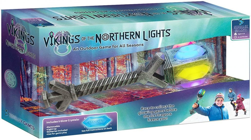 Vikings of the Northern Lights outdoor game for kids by Starlux.