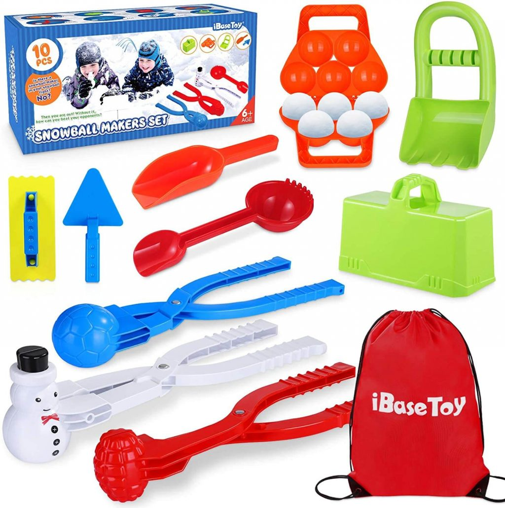 Fun snowball maker for kids by iBaseToy.