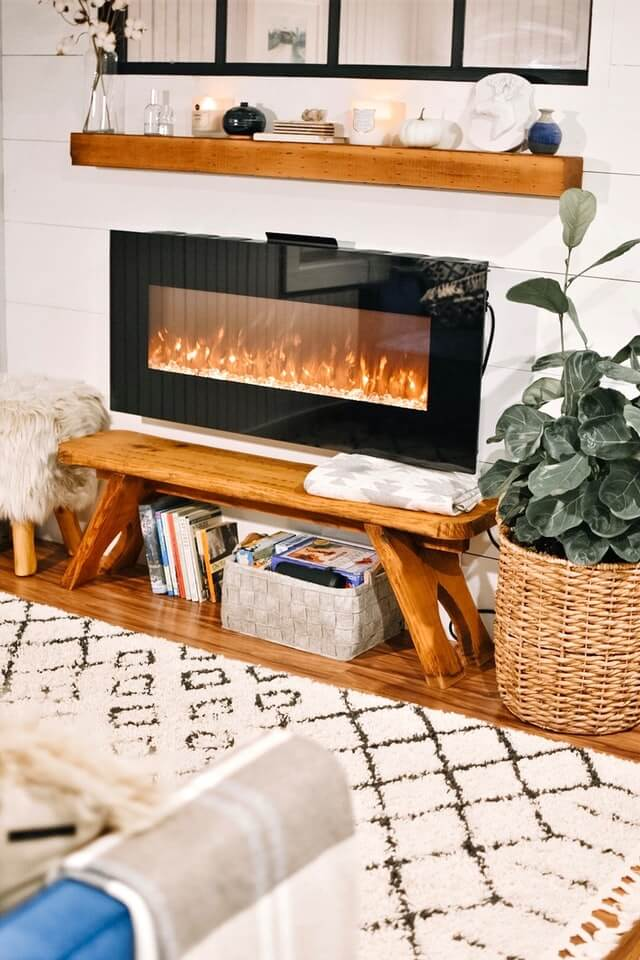 Does it cost a lot to run an electric fireplace?