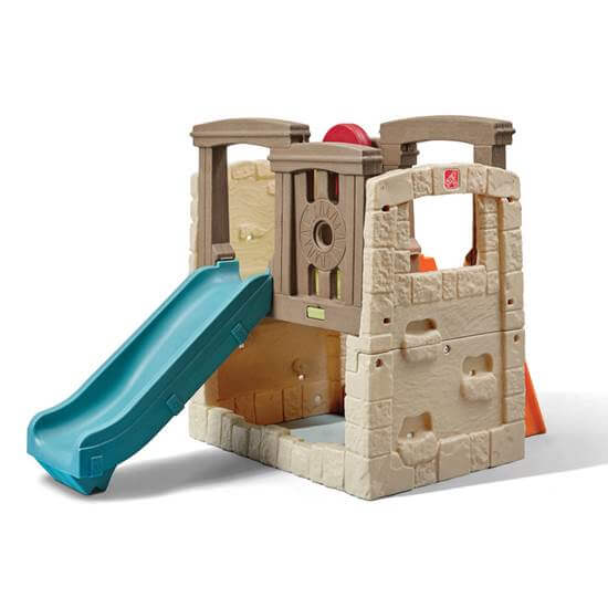 Outdoor climbing playset for toddlers by Step2.