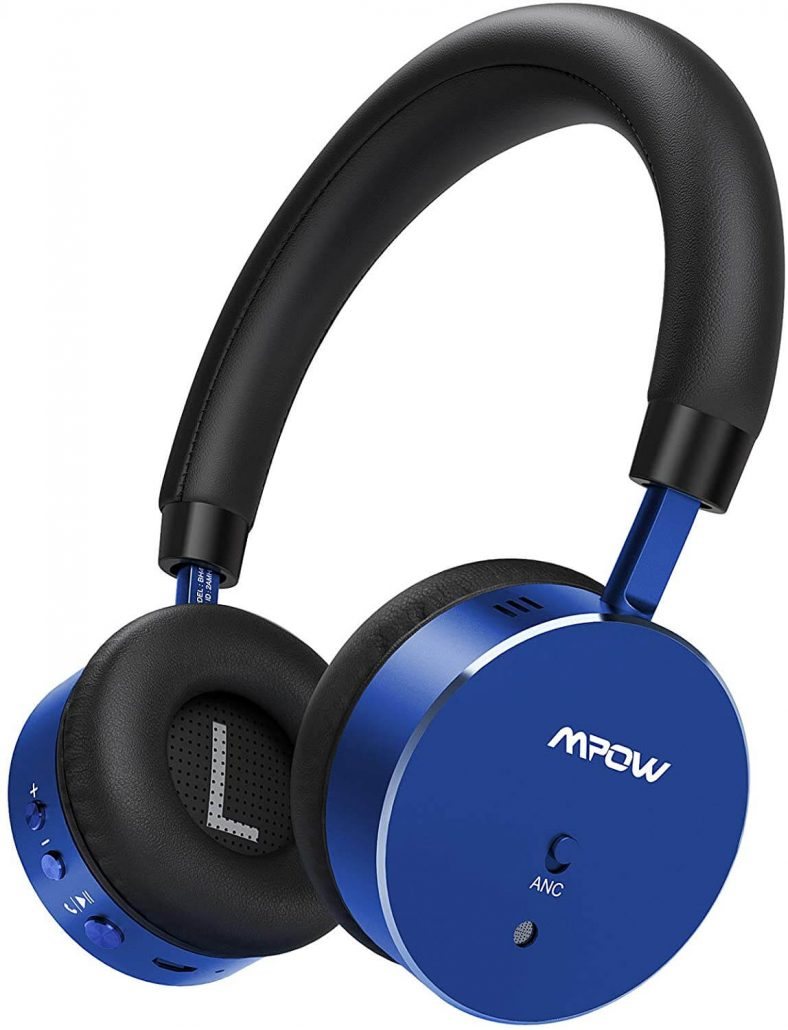 Mpow kids headphones with microphone.
