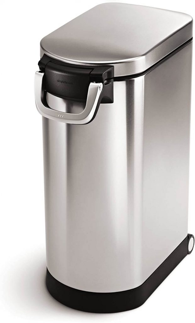 35 liter large dog food storage can by Simplehuman.