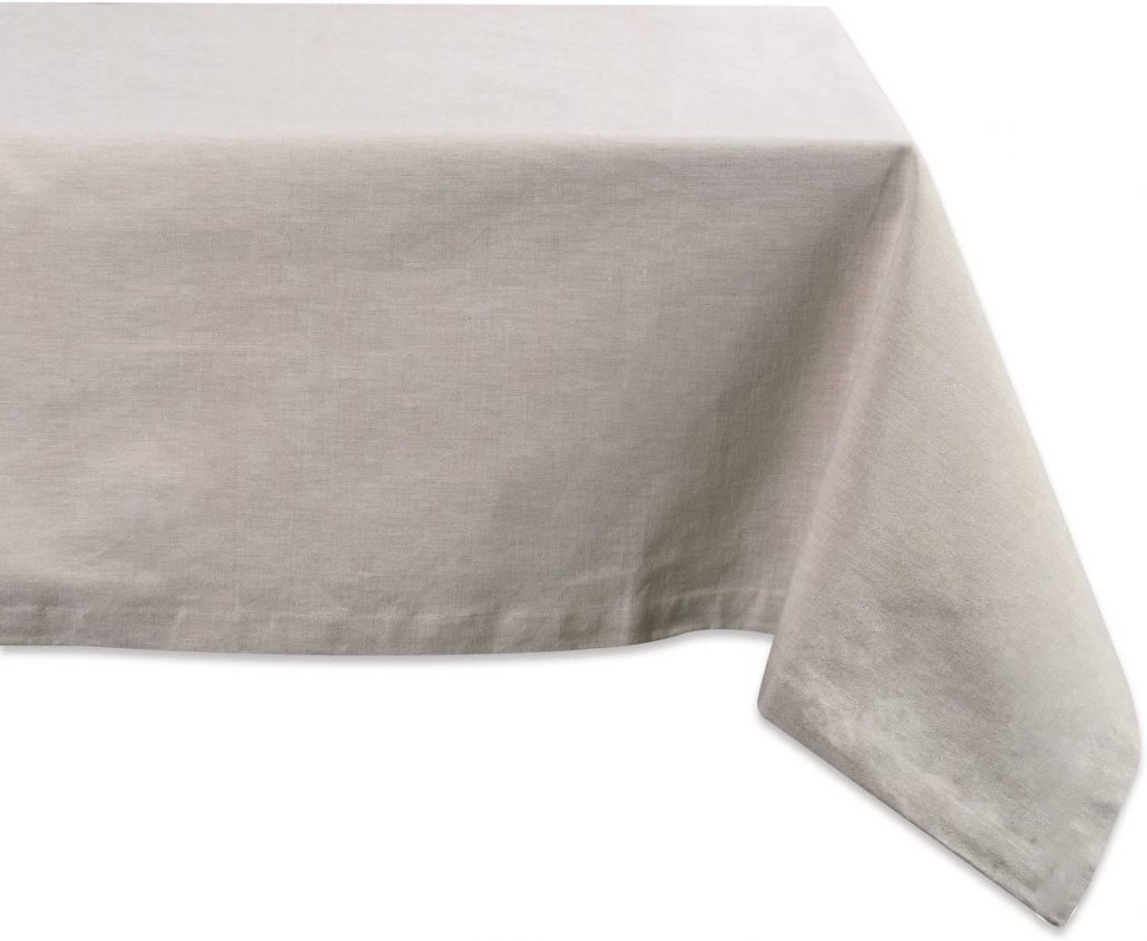 Simple spring cotton tablecloth by DII.