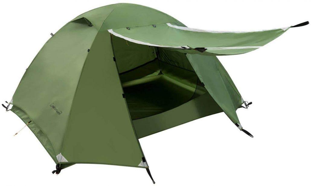 Closnature lightweight backpacking tent.