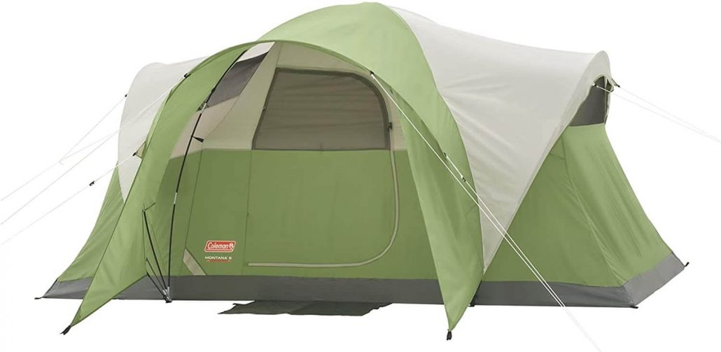 Coleman Montana six person tent.