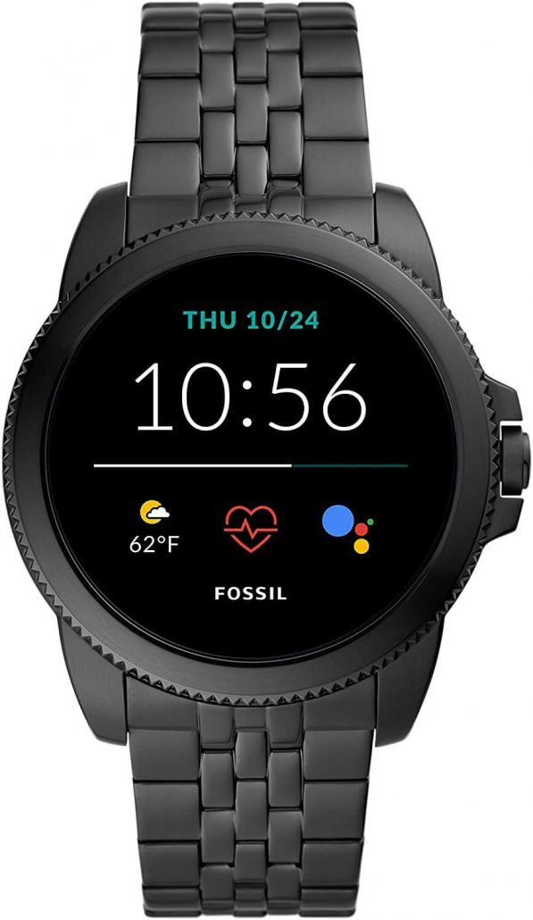 Fossil smartwatch for men with touchscreen.