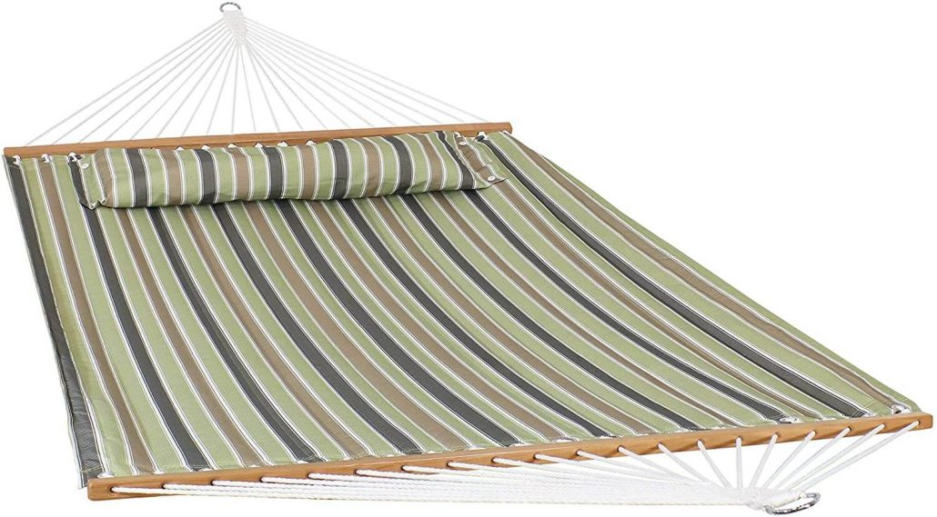2-person hammock with pillow by Sunnydaze.