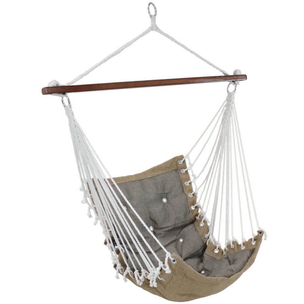 Tufted Victorian hammock chair by Sunnydaze.