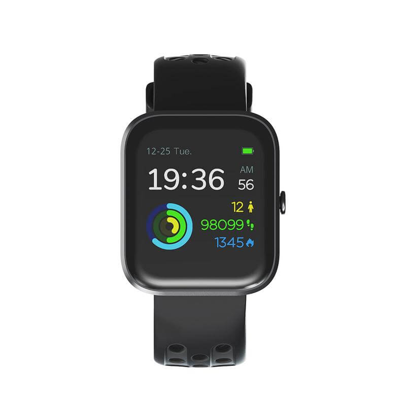 Smartwatch for men compatible with iPhone and Samsung.