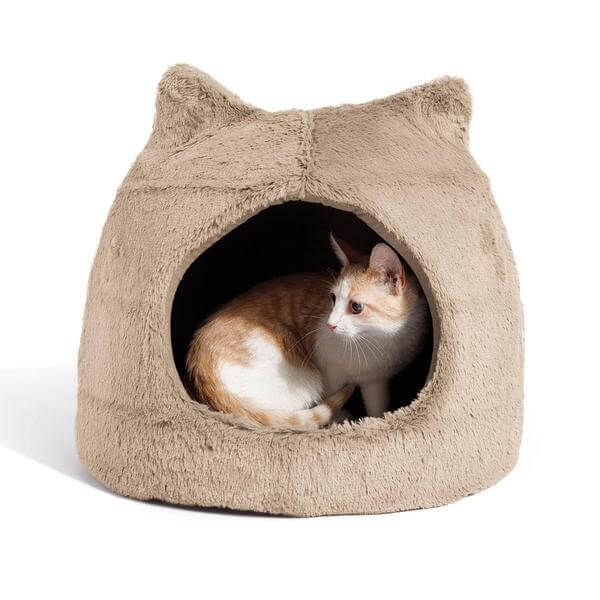 Modern cat bed igloo cat bed by Best Friends.