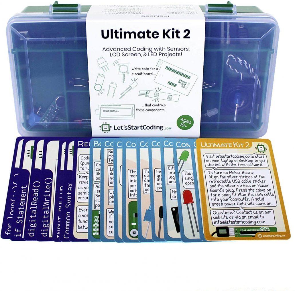 Ultimate coding kit for kids by Let's Start Coding.