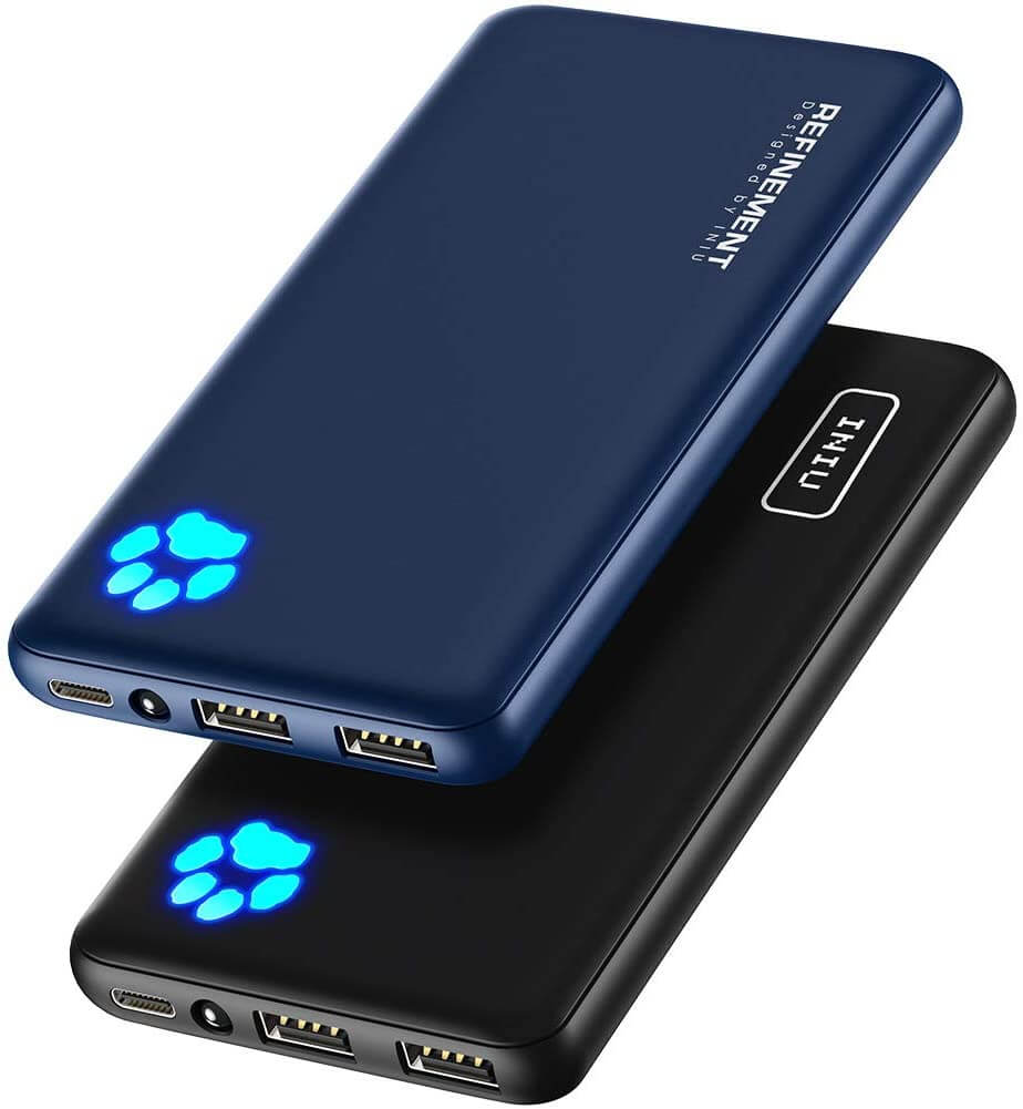INIU portable charger two pack.