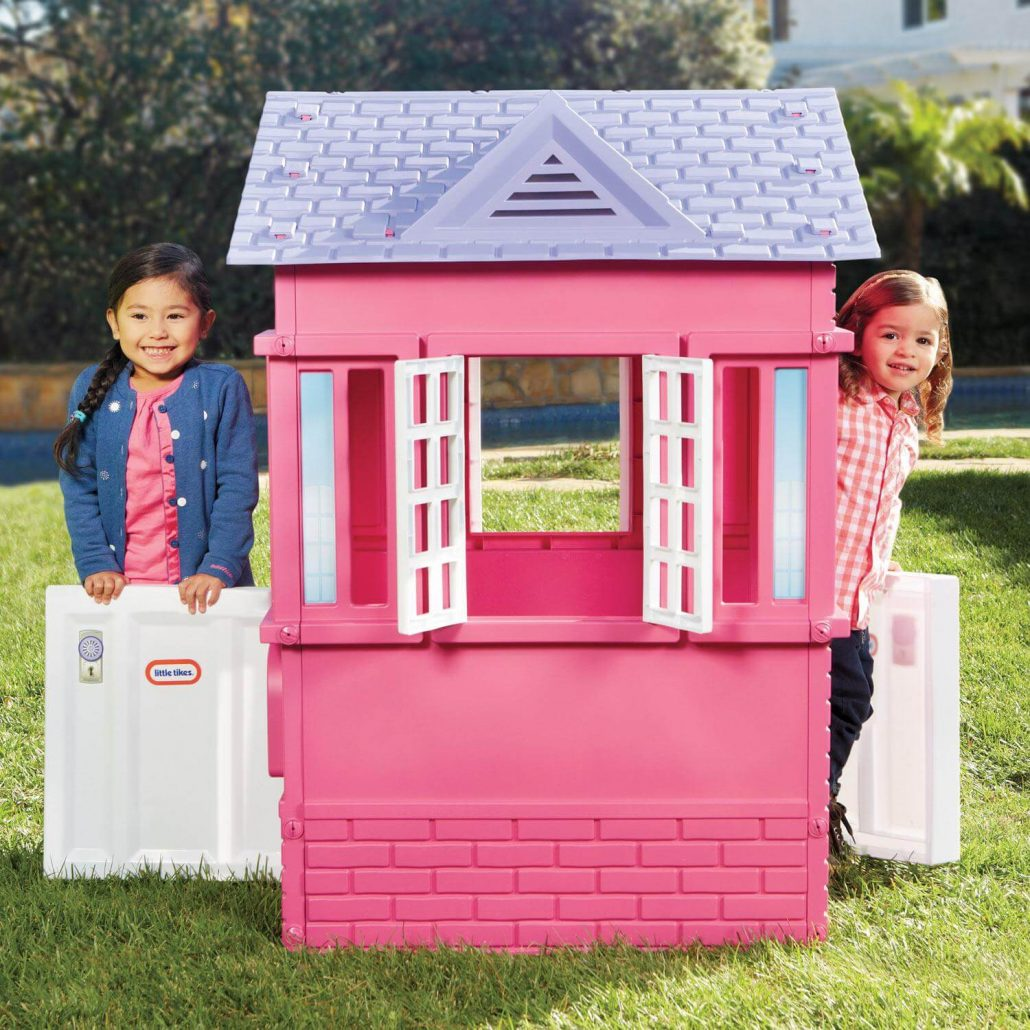 Little Tikes Cape Cottage outdoor playhouse for toddlers.