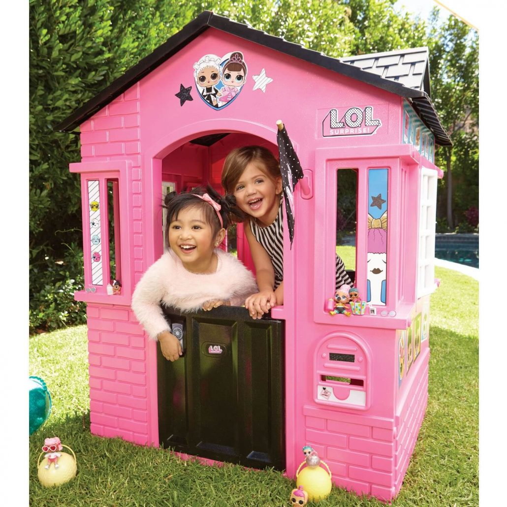 LOL Surprise! indoor and outdoor playhouse for girls.