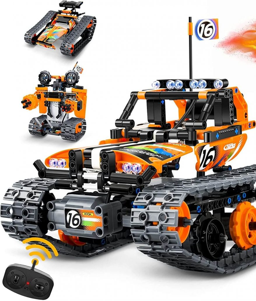Remote control car toy for kids.