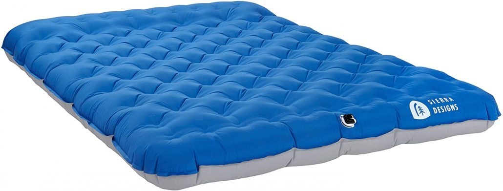 Sierra Designs 2-person camping pad mattress.