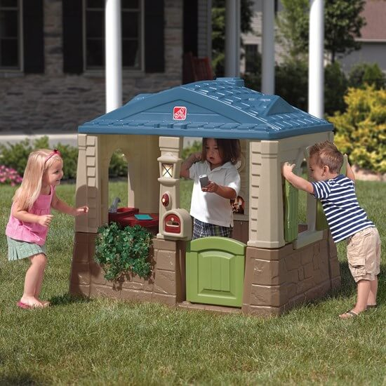 Step2 Happy Home Cottage playhouse for toddlers.