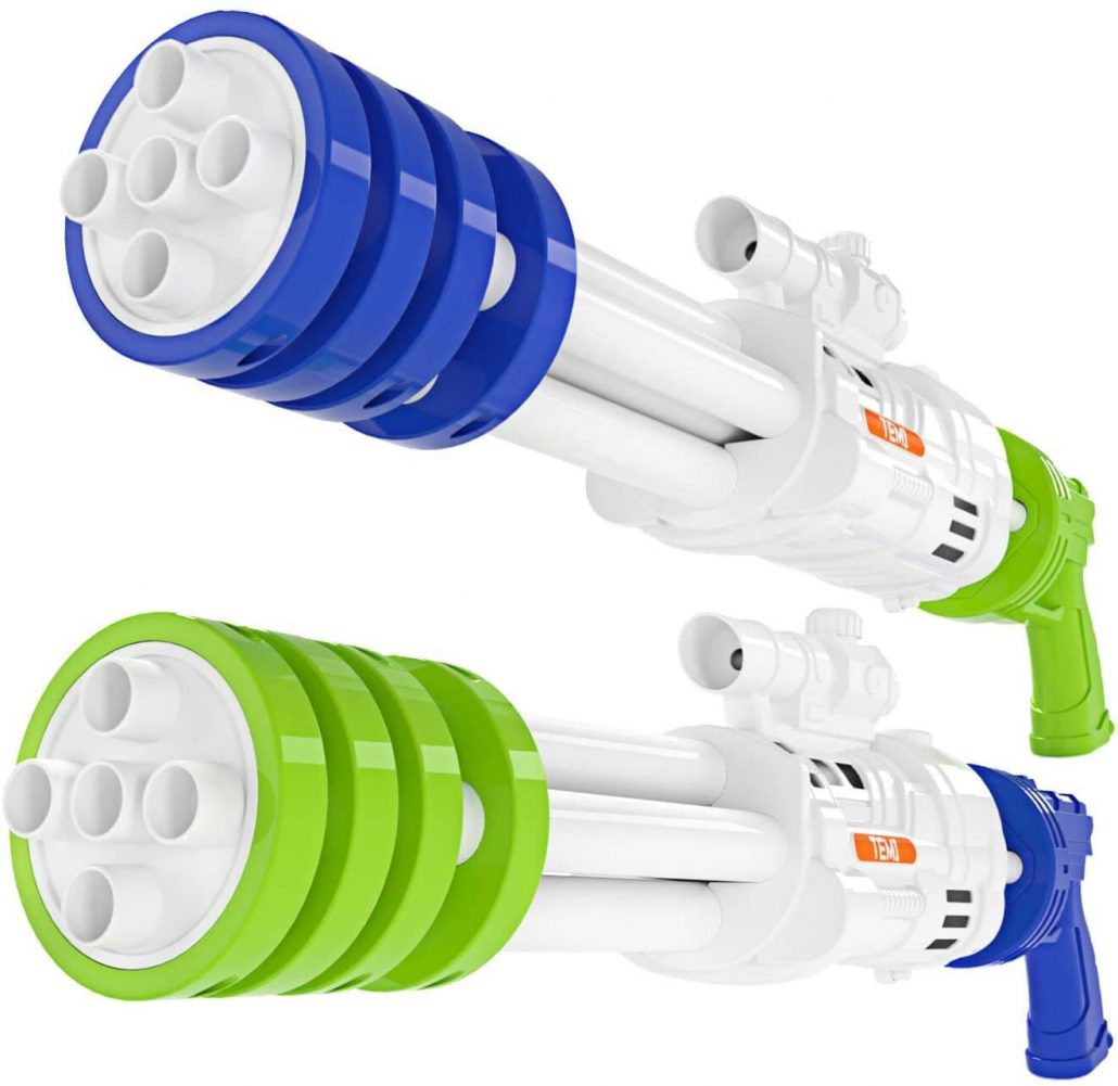 Super blaster water squirt guns for kids by Temi.