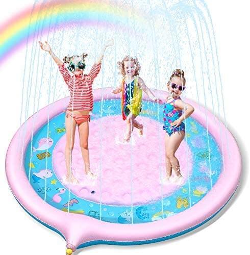Backyard sprinkler water toy for kids by Tomser.